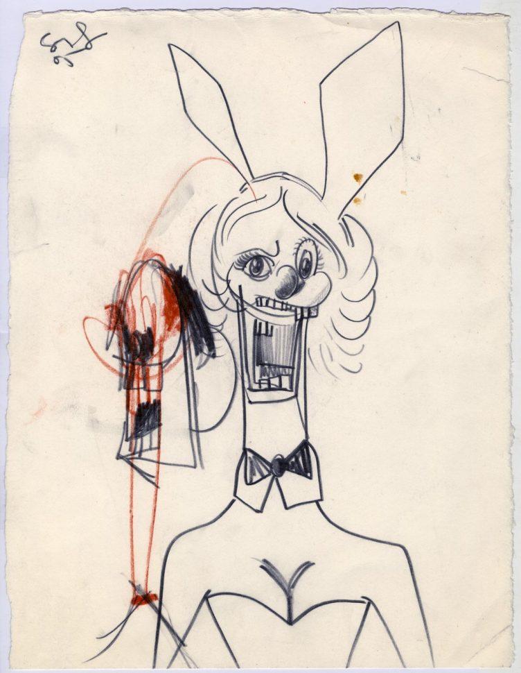 George Condo, Playboy Bunny, 2005