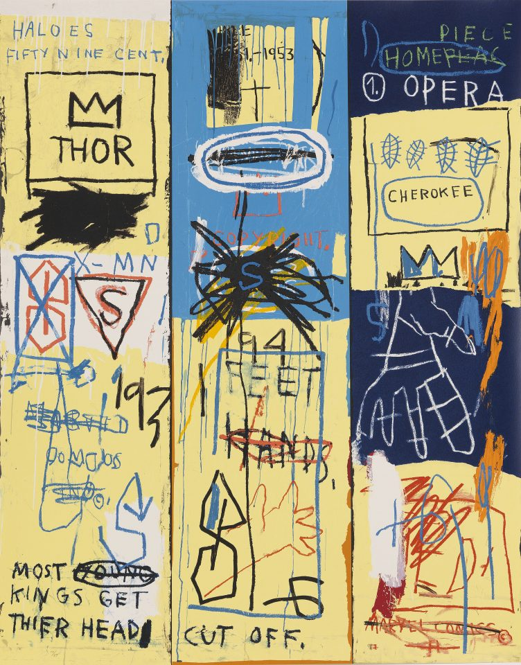 Jean-Michel Basquiat, Charles the First, 1982–2004
