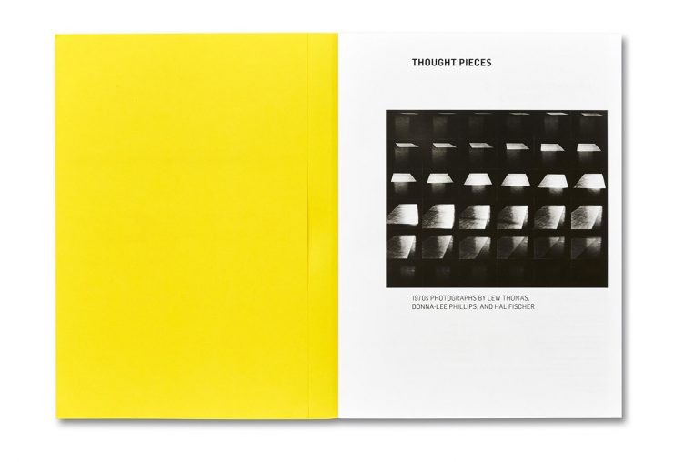 Thought Pieces: 1970s Photographs by Lew Thomas, Donna-Lee Phillips, and Hal Fischer Spread 002