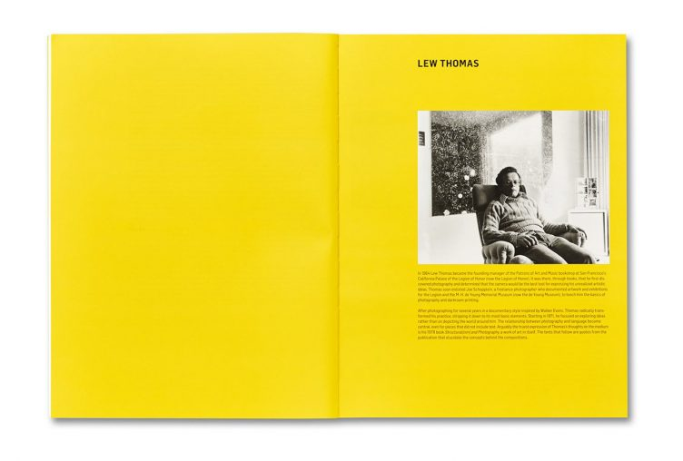 Thought Pieces: 1970s Photographs by Lew Thomas, Donna-Lee Phillips, and Hal Fischer Spread 005