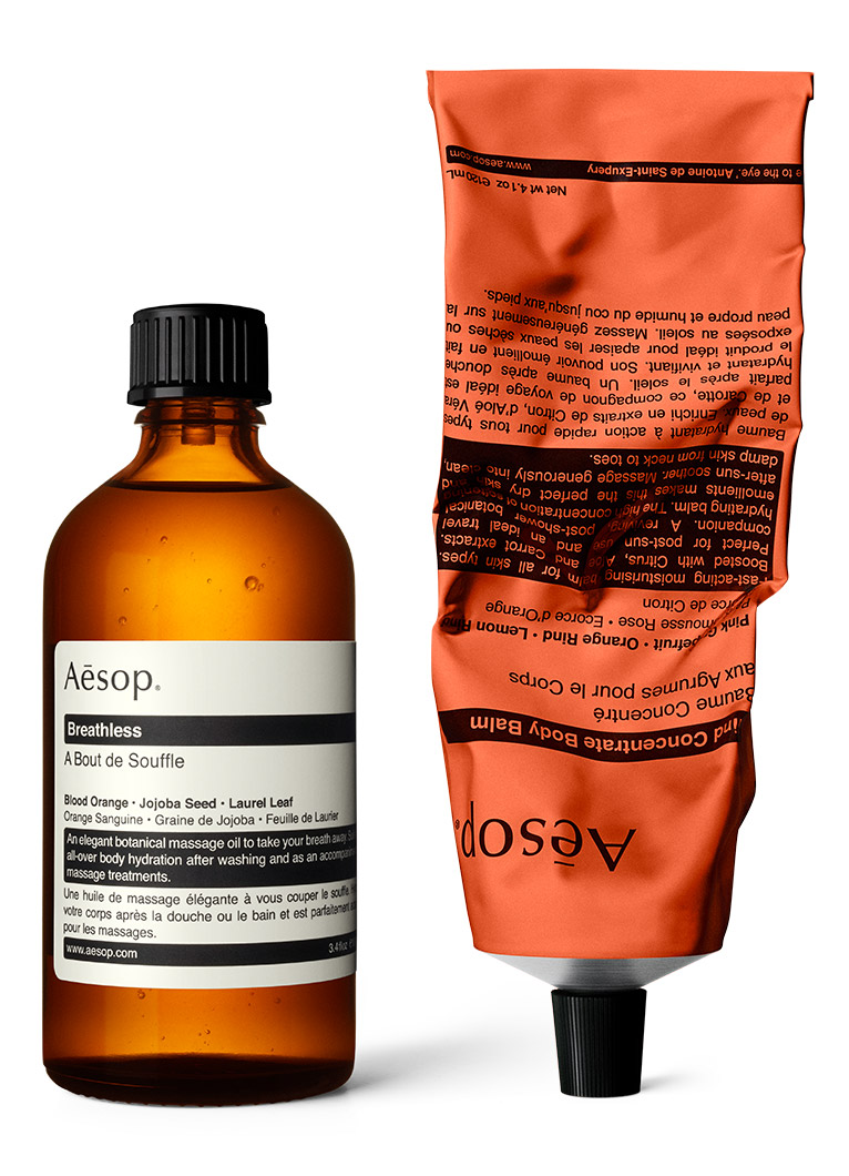 Aesop Intensely Hydrating Citrus Duo for the Body