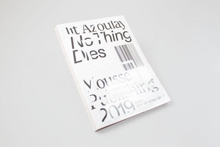 Ilit Azoulay: No Things Dies Cover 001