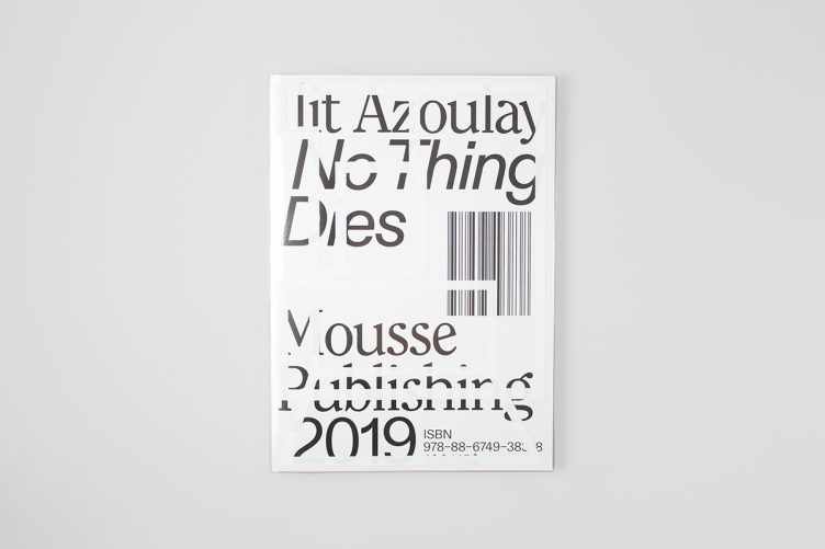 Ilit Azoulay: No Things Dies Cover 002