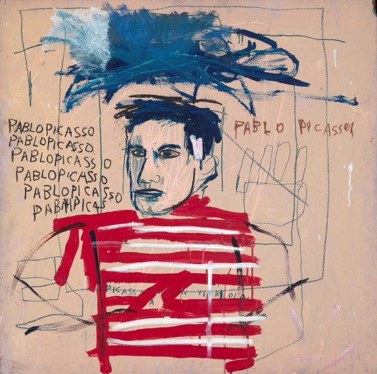 Jean-Michel Basquiat, Untitled (Pablo Picasso), 1984