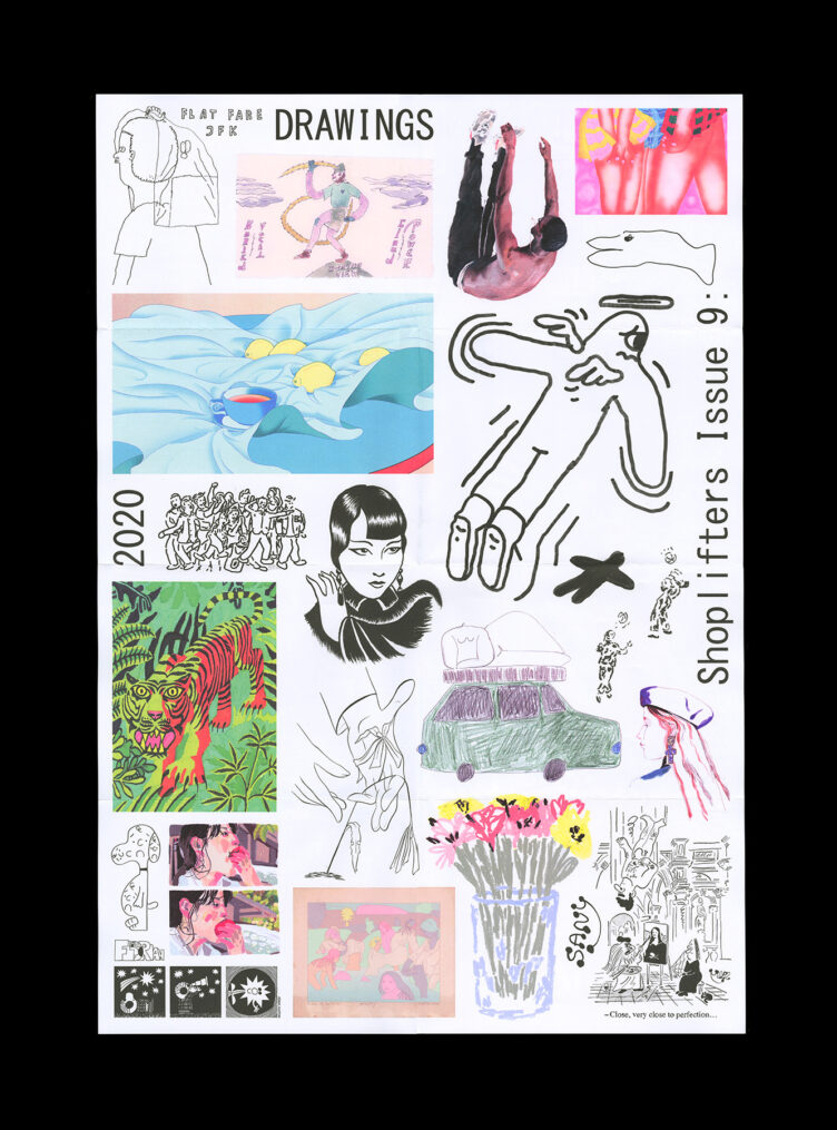 Shoplifters Issue 9: Drawings Poster Front