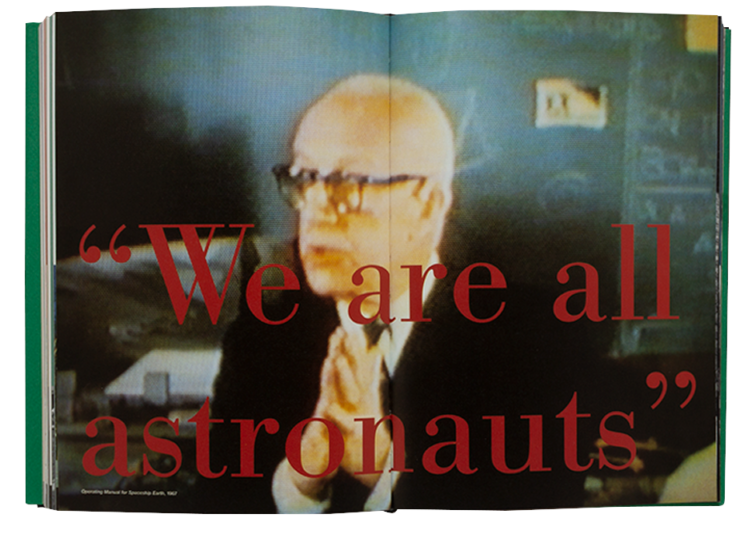 Your Private Sky R. Buckminster Fuller The Art of Design Science Book Spread
