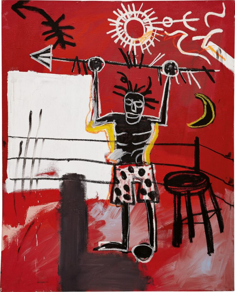 Jean-Michel Basquiat, The Ring, 1981