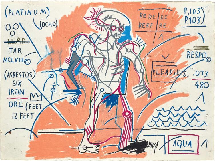 Jean-Michel Basquiat, Untitled, 1983