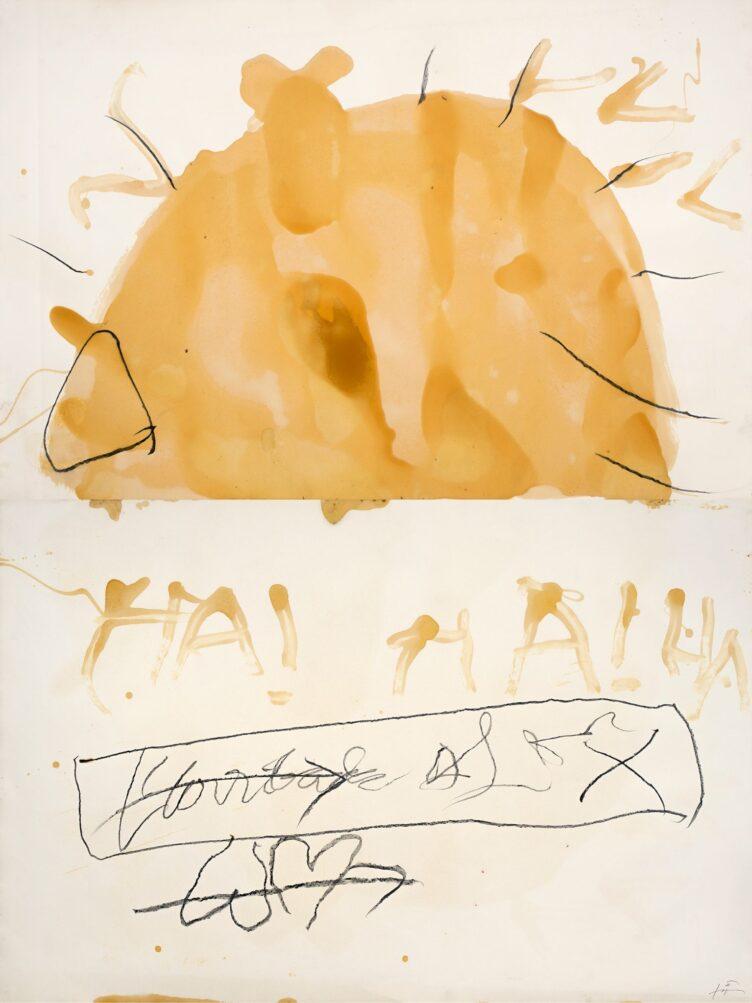 Antoni Tàpies, Ha!, 1999