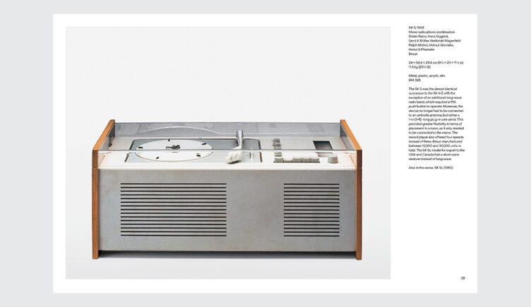 Dieter Rams: The Complete Works Spread 002