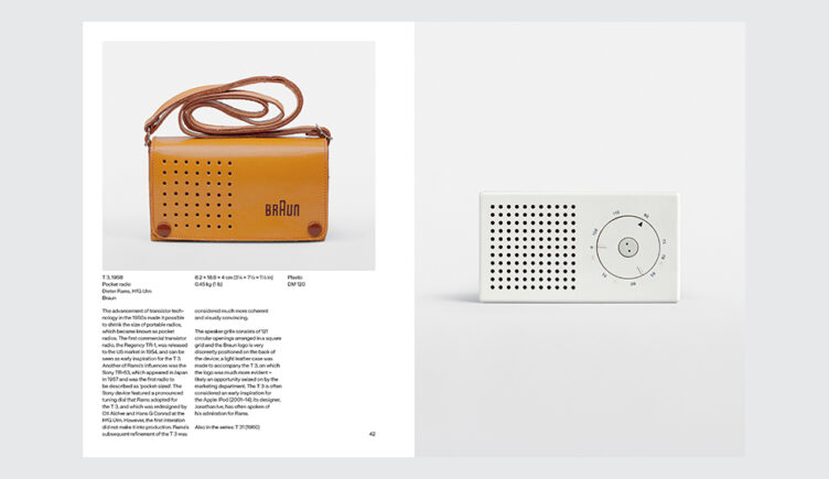 Dieter Rams: The Complete Works Spread 003