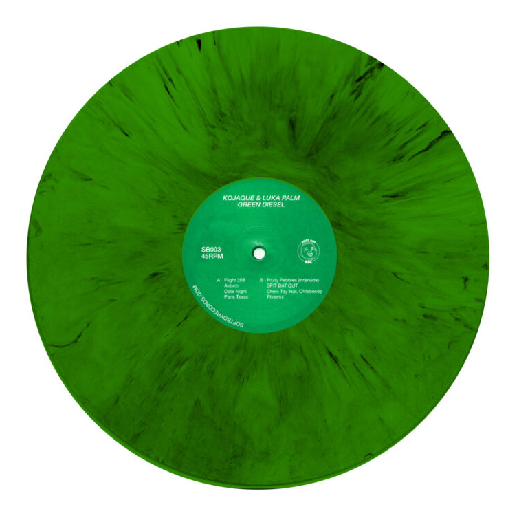 Green Diesel Cover by Oscar Torrans Vinyl