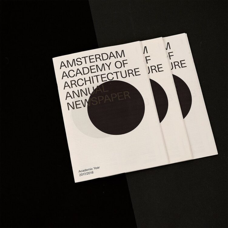 Amsterdam Academy of Architecture Annual Newspaper 2017-2018 003