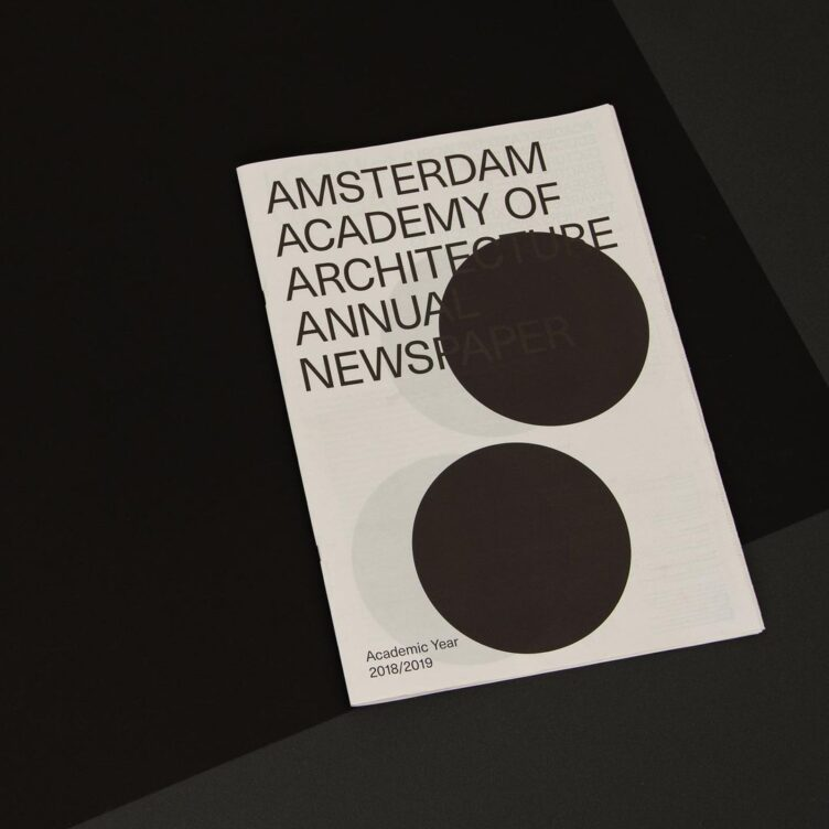 Amsterdam Academy of Architecture Annual Newspaper 2018-2019 001