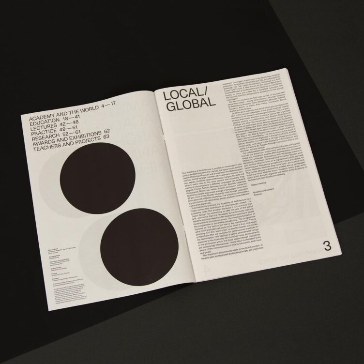 Amsterdam Academy of Architecture Annual Newspaper 2018-2019 005