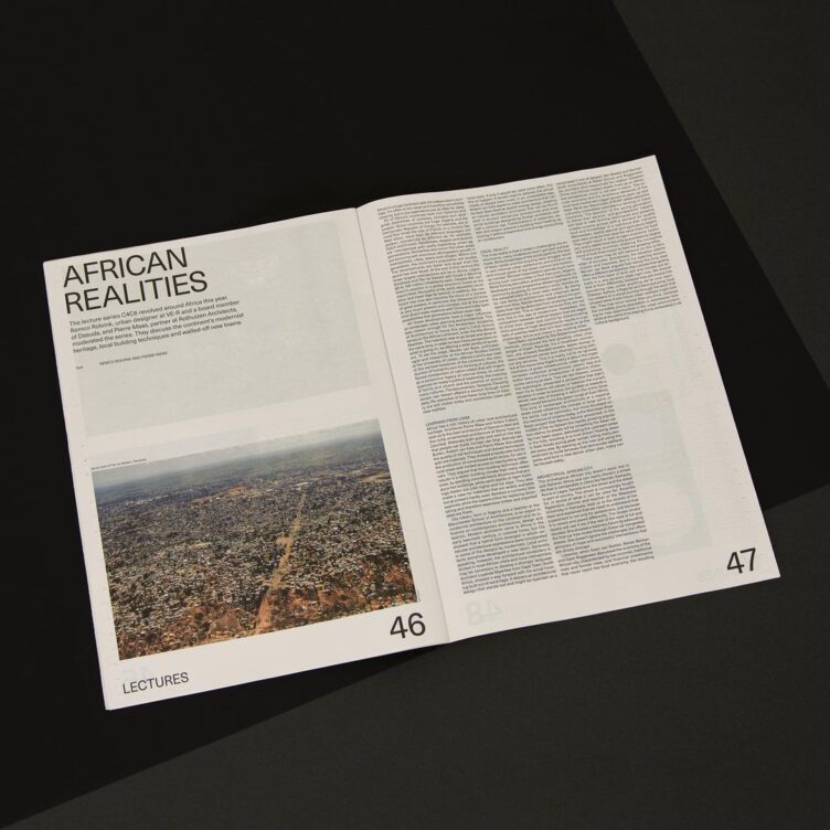 Amsterdam Academy of Architecture Annual Newspaper 2018-2019 009