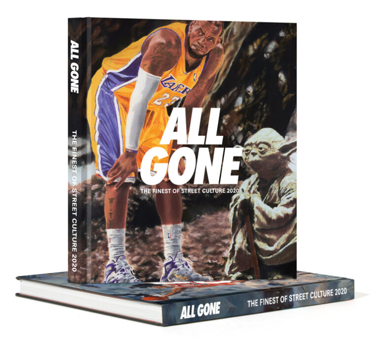 All Gone 2020: May The Force Be With U (MTFBWU) Cover and Spine