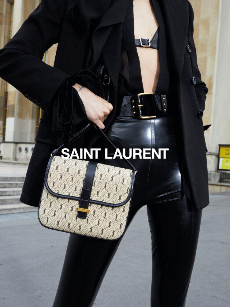 Freja Beha Erichsen for Saint Laurent Winter 2020