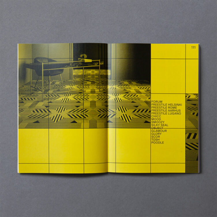 Oshima Pros Co.,Ltd. 2020 Floor Tile Catalogue Spread 006