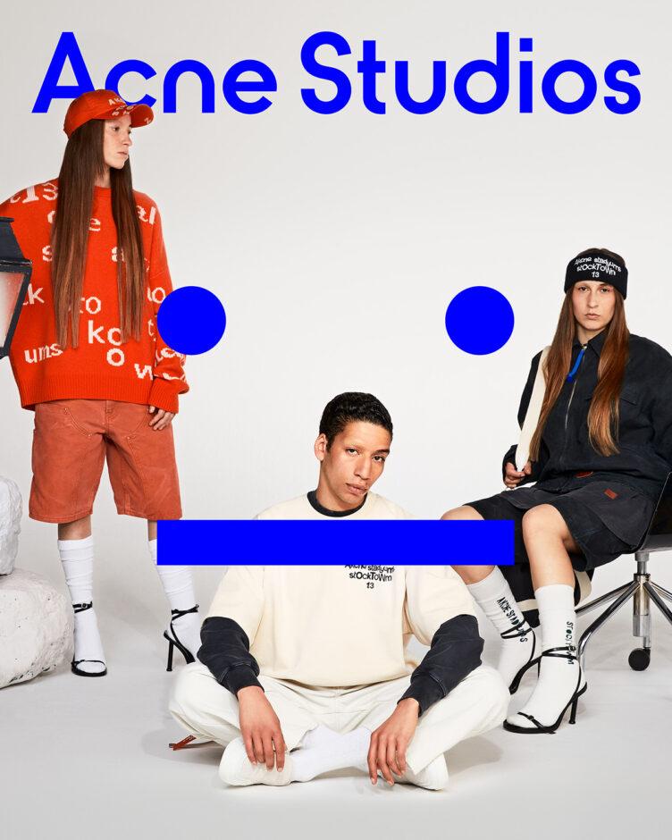 Acne Studios Face Collection