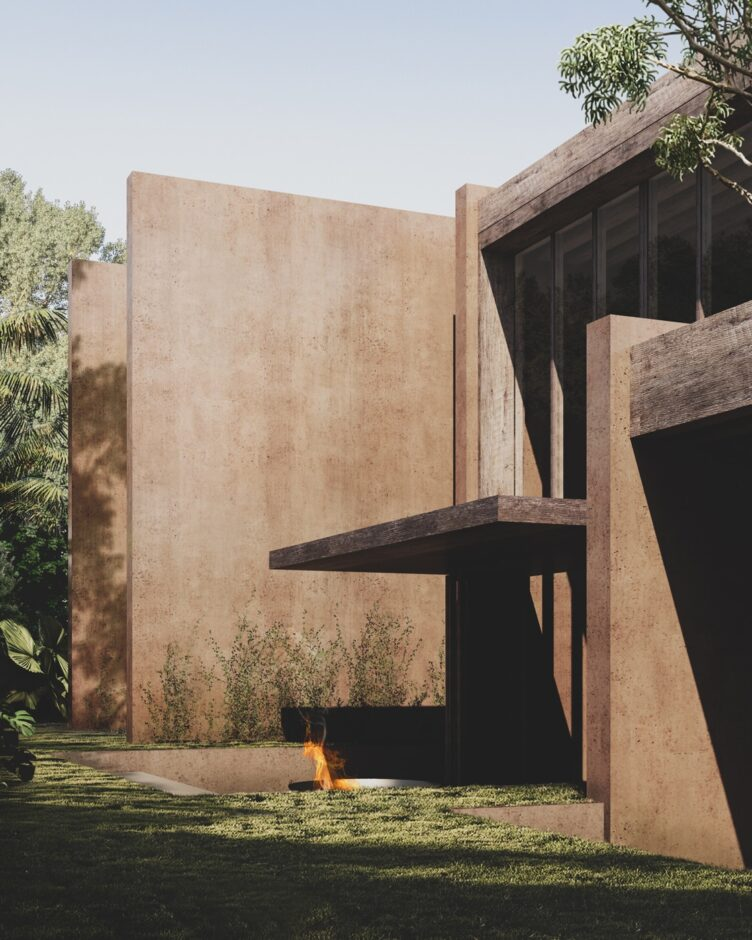 Park House in Australia designed by Morq Architects 009