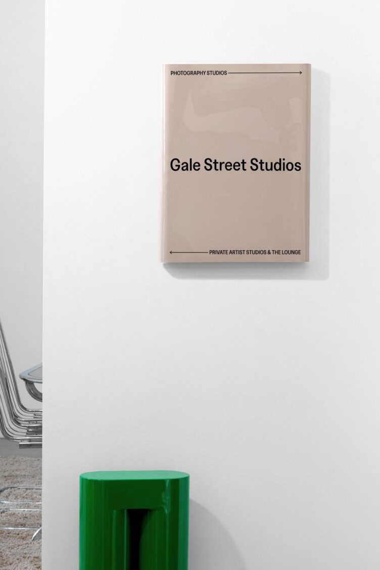 Gale Street Studios Internal Signage