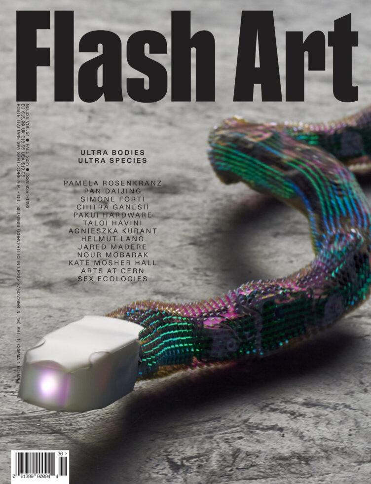 Flash Art #336 Fall 2021 Ultra Bodies Ultra Species Cover