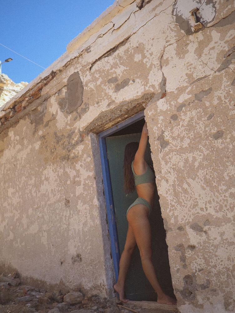 Under the Cycladic Sun – A self portrait series by Oriana Senia 006