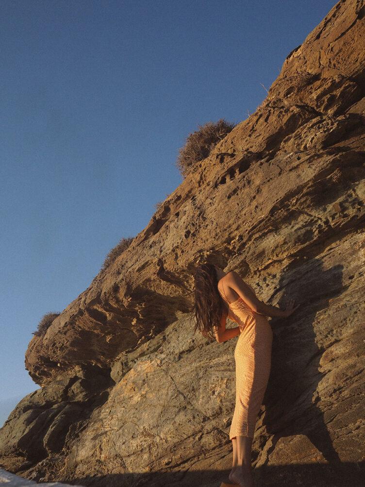 Under the Cycladic Sun – A self portrait series by Oriana Senia 012