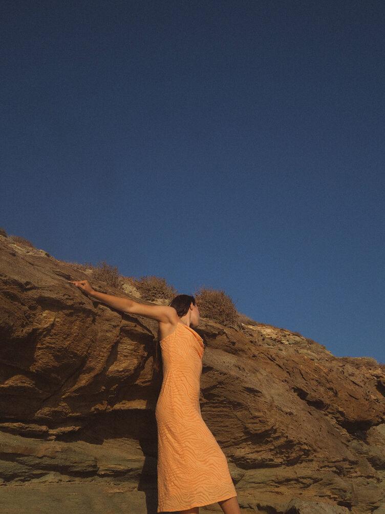 Under the Cycladic Sun – A self portrait series by Oriana Senia 013